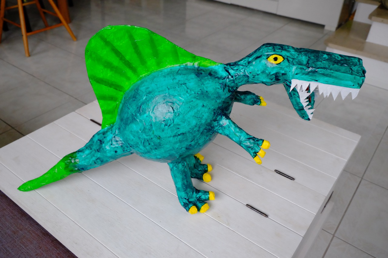 Dino Piñata Selber Herstellen Knuddelmonster